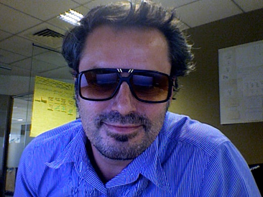 Stéphane from Dubai (UAE) with Cazal 637