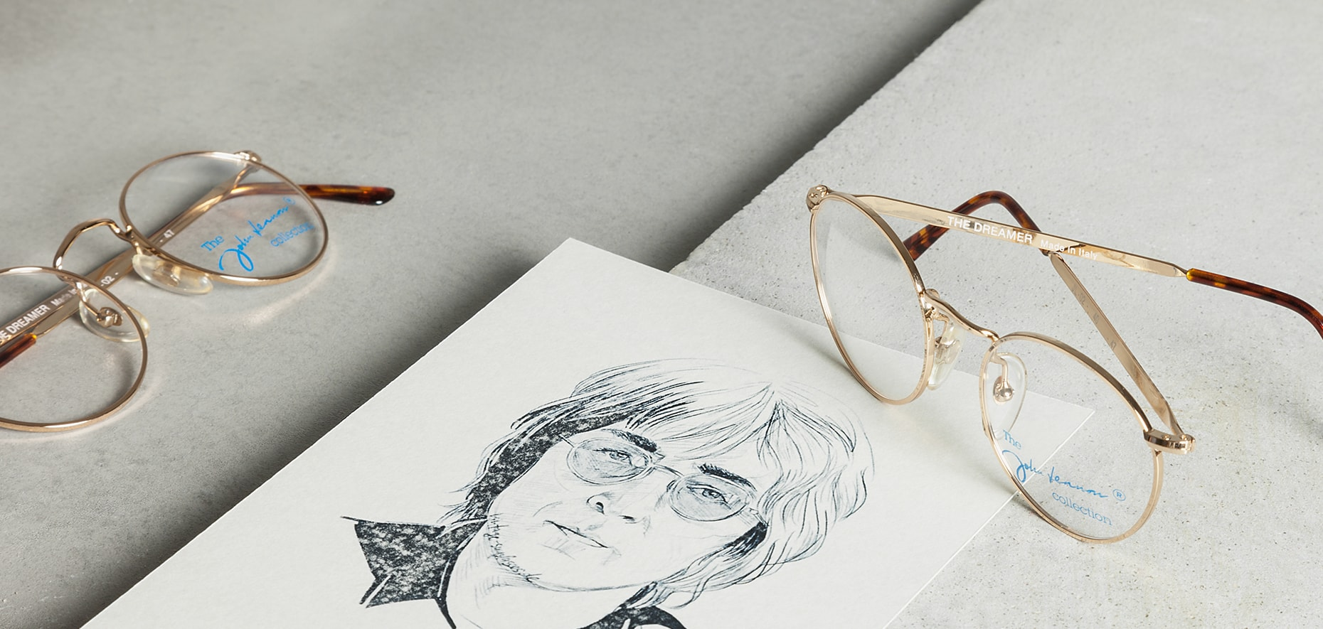 John Lennon Round Vintage Glasses As Worn By The Musician Vintage Sunglasses