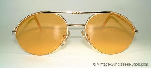 Bugatti 65788 - Half Rimless Vintage Frame