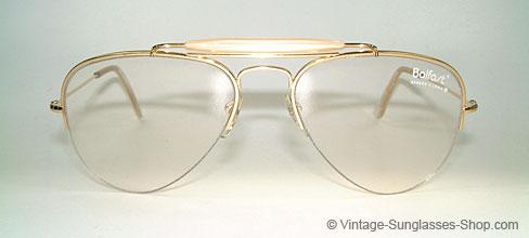 vintage ray ban eyeglass frames  ray ban balfast 810 gold filled frame details