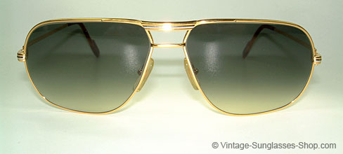 441d8767f68f Cartier Tan Gold Full Rim Sunglasses