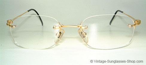 fa35514e4b0 Glasses Yohji Yamamoto 51-4101   Gold Plated