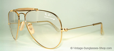 ray ban aviator gold filled