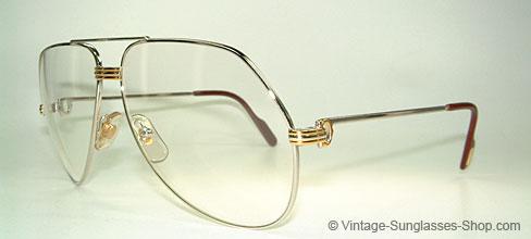 Cartier Vendome LC Platine - Large - Aviator Glasses