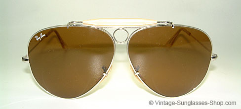 Ray Ban Shooter - White Gold - B15 Details