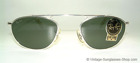 ray ban sunglasses aviator vintage  ray ban vintage modified aviator b&l usa details