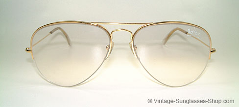 ray ban balfast 808 gold filled frame details