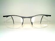 Cazal 768 - Semi Rimless 90's Eyeglasses Details