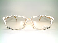 Cazal 513 - Crystal True Vintage 90's Glasses Details