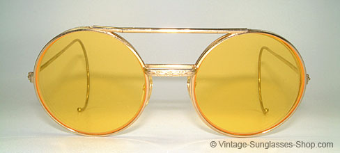 Django Unchained Yellow Glasses