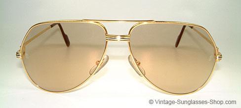oversize sunglasses - Blue Cartier w9iMcWJCyF