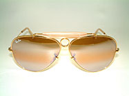 Ray Ban Shooter - Gold Plated USA Frame Details