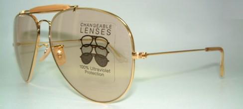 Sunglasses Ray-Ban Outdoorsman II Foto   Ambermatic   Vintage Sunglasses a608d726111c