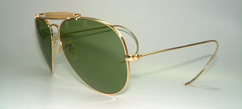 Ray Ban Aviators With Leather