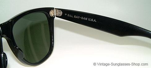 classic 1980s ray ban wayfarer  ray ban wayfarer ii