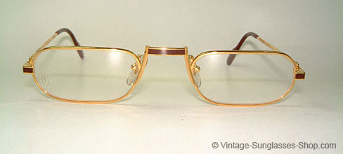 Cartier Demi Lune Laque - Reading Glasses