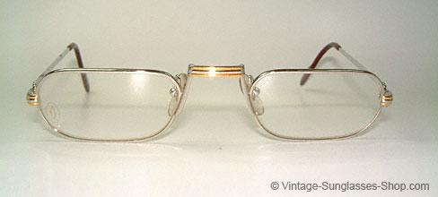 Cartier Demi Lune Platine - Reading Glasses