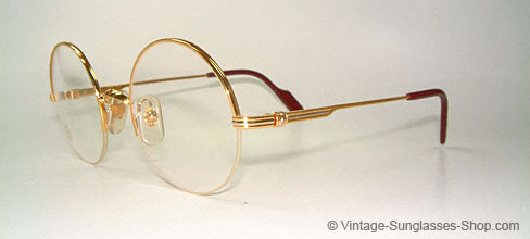 7c1edf6a74 Glasses Cartier Mayfair - Small - Round 80 s Glasses