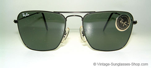 ray ban vintage glasses  ray ban caravan small b&l usa shades details