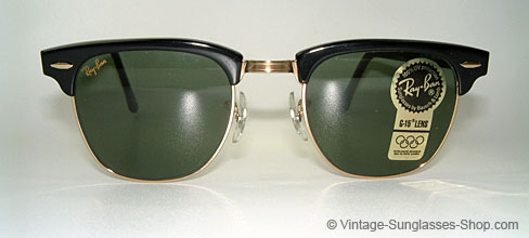 9d0843b7ef Vintage B l Ray Ban Clubmaster