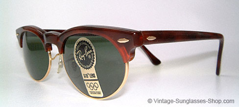 adabac0f74ea ... sunglasses but a vintage original. Ray Ban Oval Clubmaster
