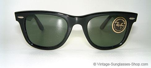 vintage ray ban wayfarer  ray ban wayfarer xs b&l usa shades details