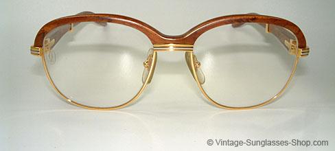 4ba27f5873d1 Glasses Cartier Malmaison Palisander