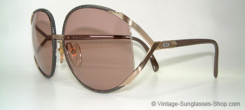 vintage sunglasses product details christian dior 2250 leather rihanna. Black Bedroom Furniture Sets. Home Design Ideas