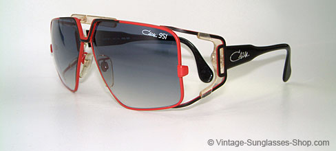 Sunglasses Cazal 951 W Germany Vintage Sunglasses