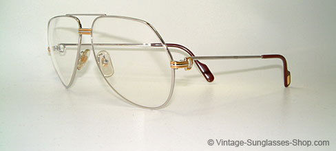 a88eaa3c4e Glasses Cartier Vendome L. Cartier Silver - Medium