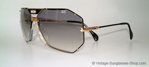36f7cad70b Cazal Sunglasses 905 Black gold Ebay