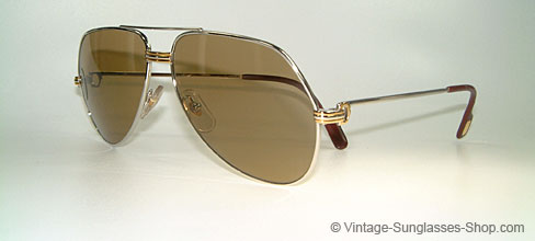 8927eb4283 Sunglasses Cartier Vendome L. Cartier Silver - Medium