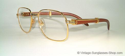 af897c38053f2 Glasses Cartier Monceau Palisander