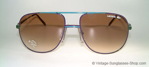 6705bddad4ae Vintage Lacoste Aviator Sunglasses - Welcome To Miami