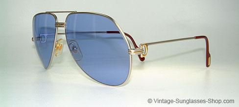 bf0ce0a9389b Sunglasses Cartier Vendome Platin L.C. - Large
