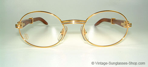 5ebf51665f Glasses Cartier Giverny Palisander