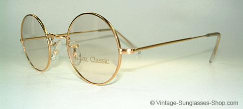 Round Glasses Gold Frames : Vintage Sunglasses Product details Glasses Hilton ...