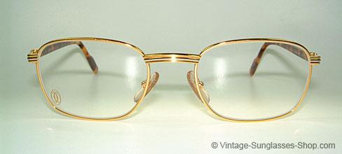 734894c25cd Glasses Cartier Aube - 90 s Luxury Eyeglasses