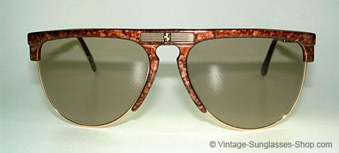 f400f22ac91 Vintage Ferrari Folding Aviator Sunglasses