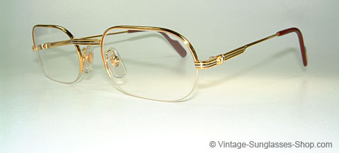 Cartier Ascot - Small - Rimless Vintage Frame