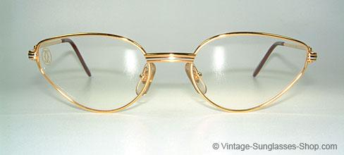Cartier Rivoli LC - Small - 90's Cateye Glasses