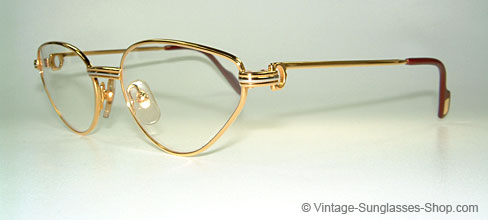 Cartier Rivoli LC - Small - 90's Cateye Glasses