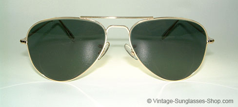 Original Aviator Sunglasses  vintage sunglasses original unworn glasses and sunglasses aviator