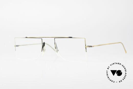 L.A. Eyeworks BURBANK 442 True Vintage Eyeglasses Details