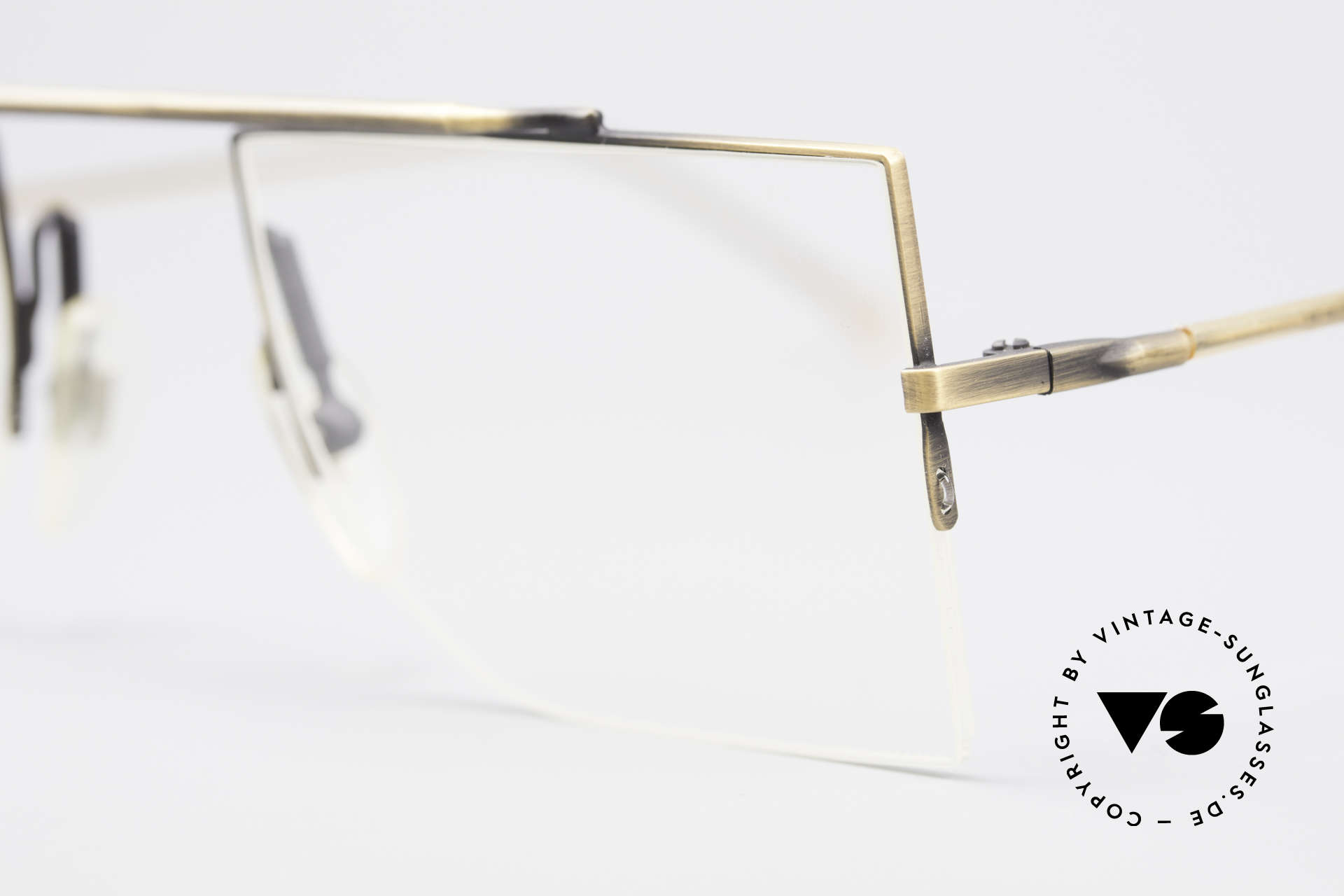 L.A. Eyeworks BURBANK 442 True Vintage Eyeglasses, timeless & puristic, at the same time - a true classic, Made for Men and Women