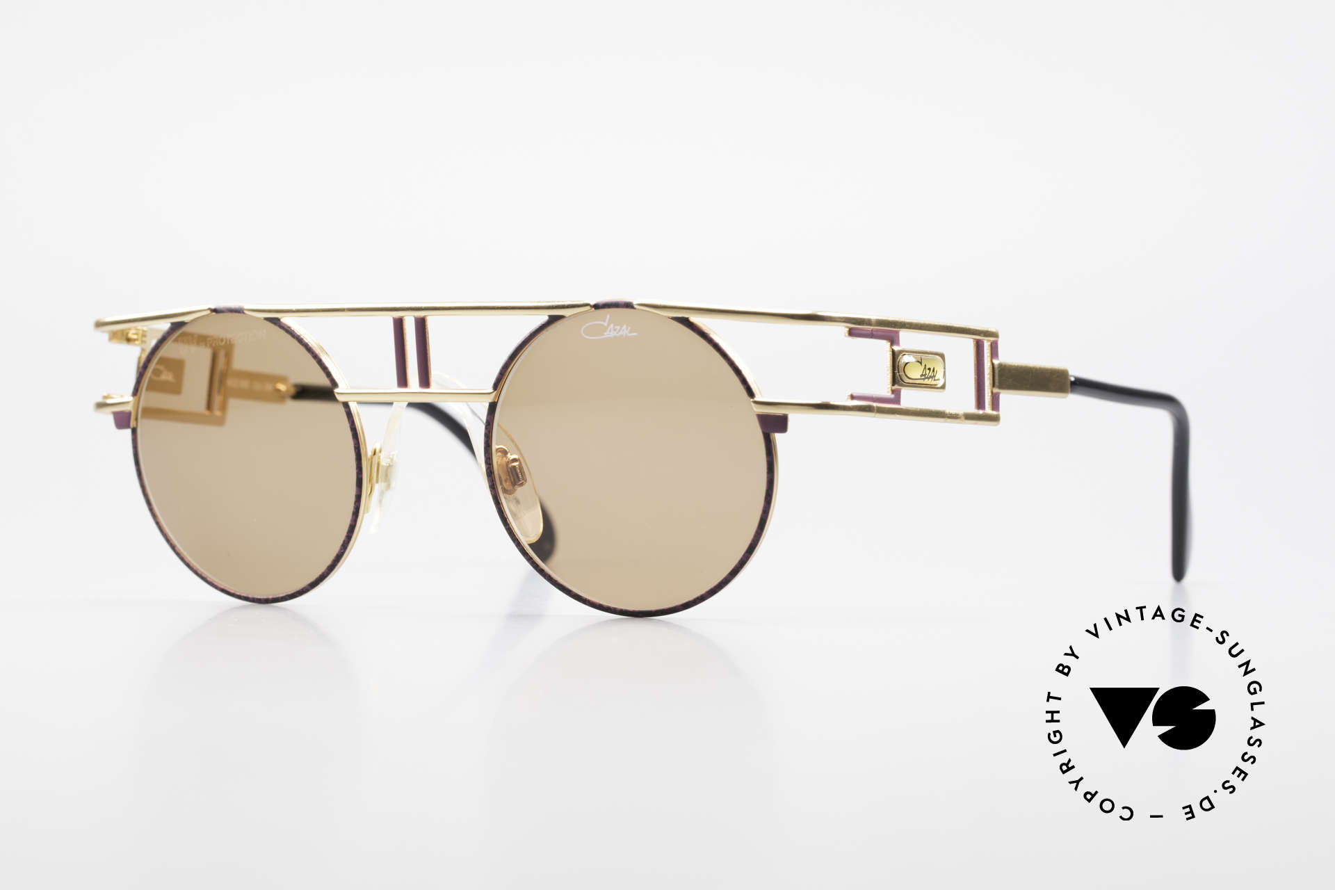 Cazal 958 1990's Vanilla Ice Sunglasses, famous designer sunglasses by CAZAL from 1991, Made for Men and Women