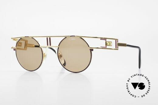 Cazal 958 1990's Vanilla Ice Sunglasses Details