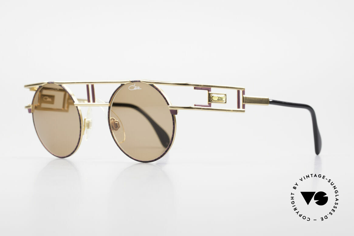 Cazal 958 1990's Vanilla Ice Sunglasses, also seen on Beyoncé K. (in private, NYC 2012), Made for Men and Women