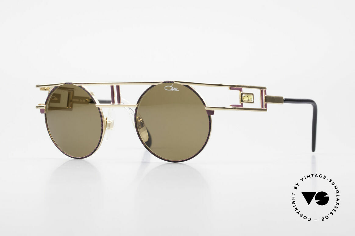 Cazal 958 90's Eurythmics Sunglasses, famous designer sunglasses by Cazal from 1991, Made for Men and Women