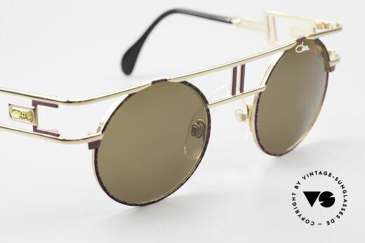 Cazal 958 90's Eurythmics Sunglasses, orig. dark-brown CAZAL lenses; 100% UV protection, Made for Men and Women